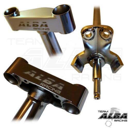 """2/"""" Steering Stem  Chromolly   Chrome    Alba Racing  775 LTZ 400 KFX DVX"""