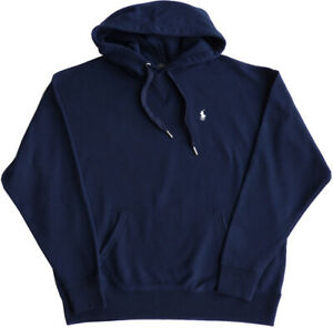 cheap for discount 20401 dcf5a Details about Polo Ralph Lauren Women's Hoodie/Sweatshirt SIZE L, Navy  Fringe Logo, Hood