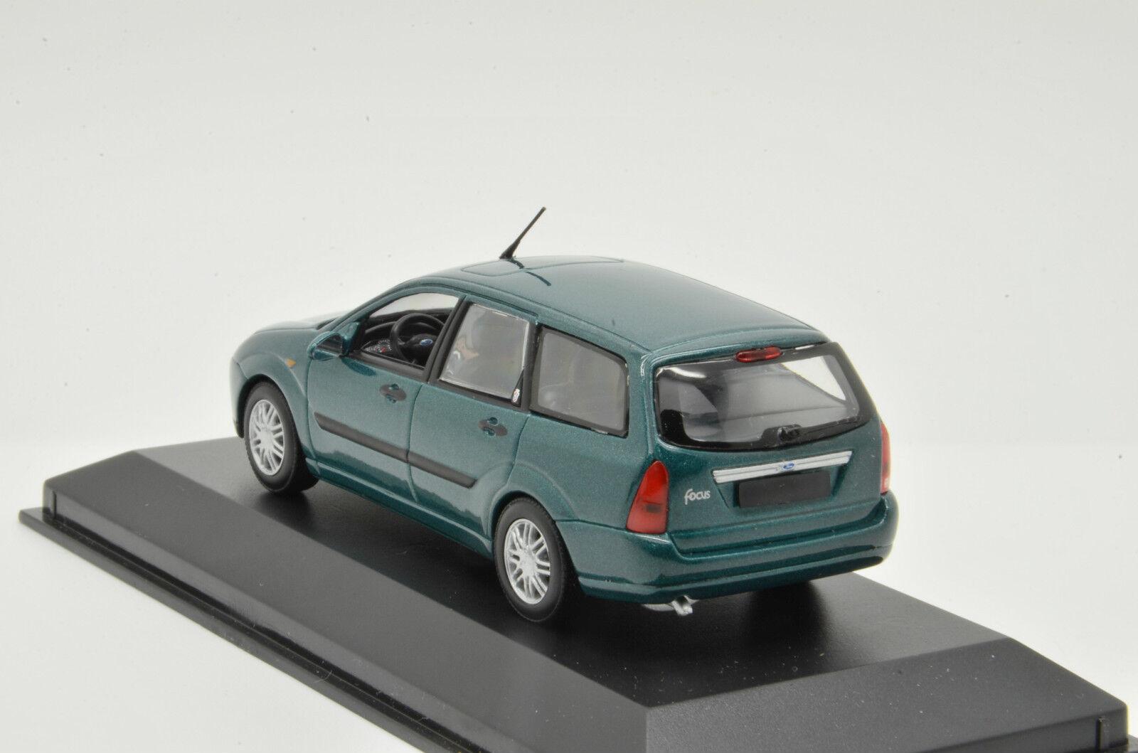 Ford Ford Ford Focus Turnier Green Minichamps 1 43 083ffd
