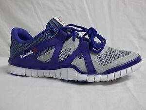 cffa3aee310 Reebok Size 7 M Zquick Tr 2.0 Purple Athletic Sneakers New Kids ...