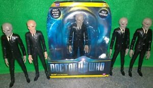 Doctor-Who-SILENT-Action-Figure-Lot-x5-Used-Silence-Silents