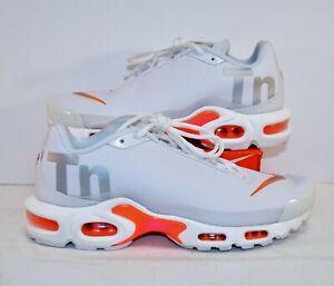 Details about Nike Air Max Plus TN SE Big Logo White Mens Running Shoes Sz 12 NEW AQ1088 100
