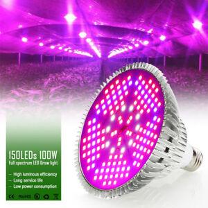 Image Is Loading 100W Full Spectrum 150 LED Grow Light Lamp