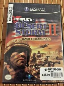 Conflict-Desert-Storm-II-Back-to-Baghdad-Gamecube-2004-Free-CDN-Shipping