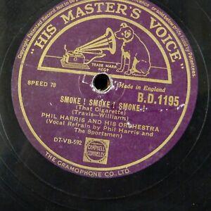 Details about 78 rpm PHIL HARRIS smoke ! smoke ! smoke ! / crawdad song
