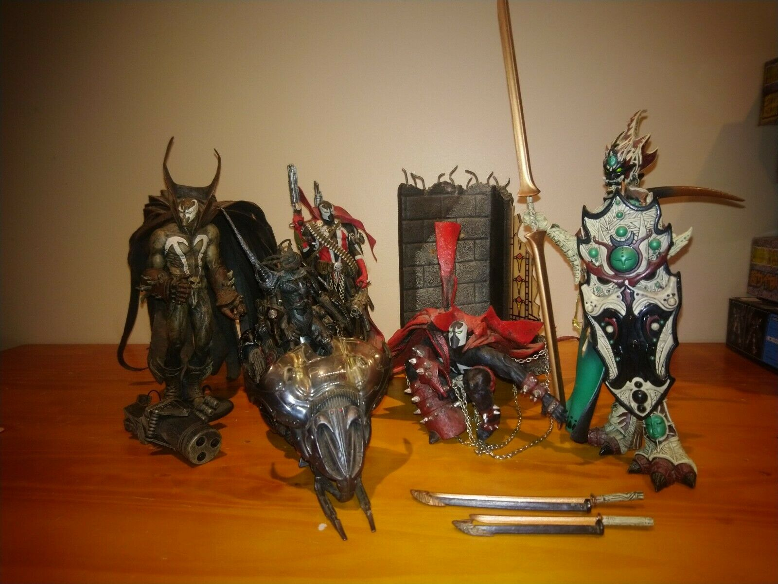 Mcfarlane spawn action figures lot