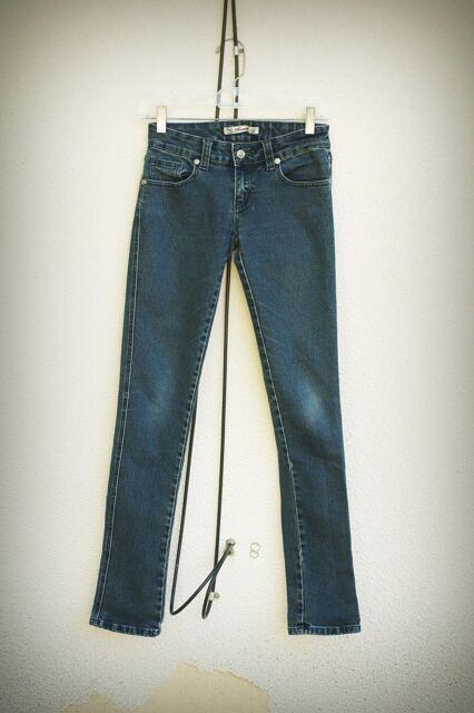 Thread Size 1 Skinny Pyramid Studs Gothic Punk Denim Jeans