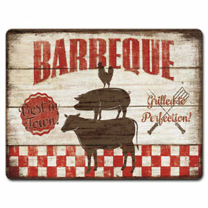 Tempered-Glass-Cutting-Cheese-Board-11-5x15-Backyard-Barbecue-Cow-Pig-Chicken