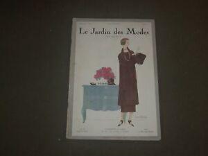 1924 AUG 15 LE JARDIN DES MODES MAGAZINE - LA COMMODE DE LAQUE ...