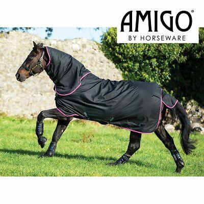 Fig//Silver Horseware Amigo Hero Ripstop Plus Medium 200g