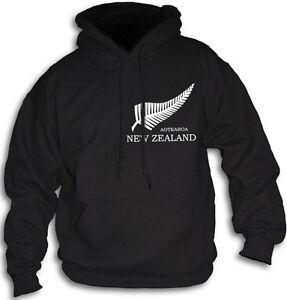 Silver-Fern-Aotearoa-New-Zealand-Mens-Womens-Hooded-Top-Sm-2XL-Hoodie