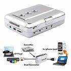Portable USB Cassette Players Capture LP/Vinyl Tape to PC MP3 Digital Converter