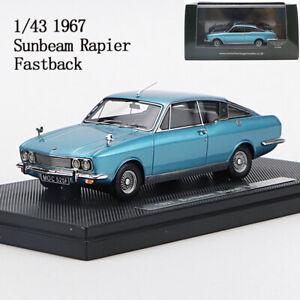 Resina-de-patrimonio-britanico-de-1-43-Modelo-1967-Modelo-de-Coche-FE-Sunbeam-Rapier-Fastback