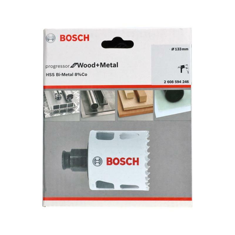 Bosch Bi-Metall Lochsäge Progressor for Wood & Metal 133mm