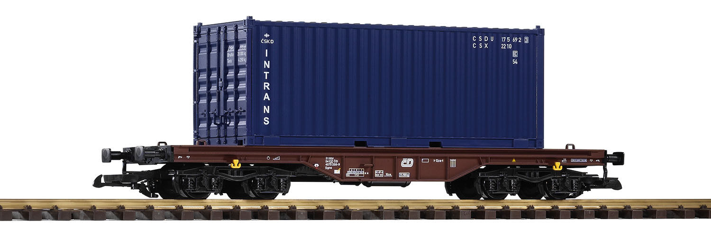 Piko 37728 G - Flachwagen mit Container Intrans NEU & OvP    Online-Exportgeschäft