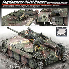 Academy 1/35 Jagdpanzer 38(t) Hetzer TANK Plastic Model Kit Armor #13230