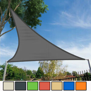 Voile d/'ombrage de soleil Jardin Patio Fête l/'écran Solaire Rectangle