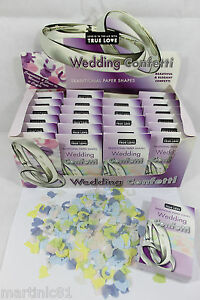 48-X-BOXES-TRADITIONAL-PAPER-SHAPES-WEDDING-CONFETTI-THROWING-DECORATION-COLOUR
