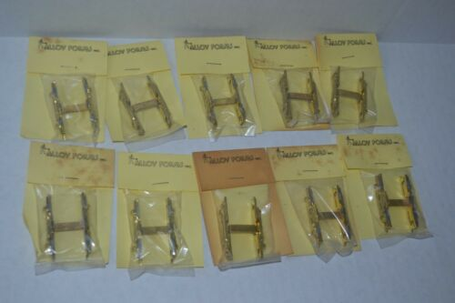 10 Alloy Forms AAR Type A Side Frame Diesel Switcher Brass HO Scale 5 Pair