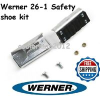 Werner 26-1 - Replacement Shoe / Feet Kit - Aluminum Extension Ladder Parts