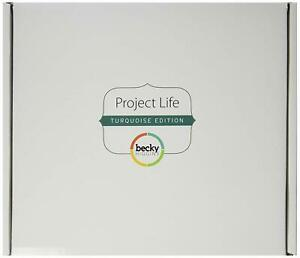 Project Life by Becky Higgins Core Kit Scrapbooking System - Turquoise Edition