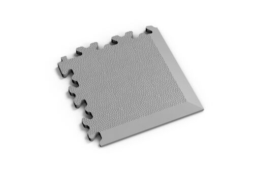 Kunststoff PVC Fliesen Ecke Garagenboden Gewerbe Industrie Leder 14,5x14,5 cm