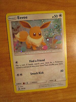 LP Pokemon EEVEE Card BLACK STAR PROMO Set SM184 HOLO Sun and Moon Blister Pack