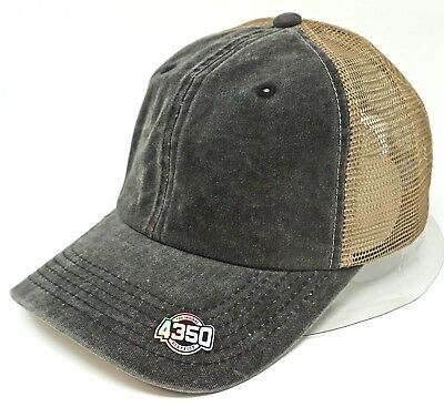 BEAUTIFUL Cap Pigment Washed Distressed Unconstructed Dad Painter Hat OSFM NWT