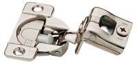 H1531sl-np 35mm 105° Euro Hinge 1 1/4 Overlay Nickel Finish Set Of 10