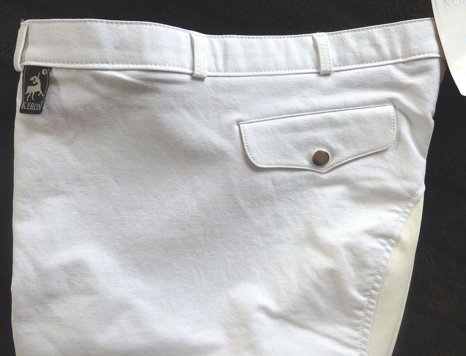 KYRON Uomo Pantaloni Montala, 3/4 guarnizione in Bianco, pieno, Bianco, in Tg. 52 Danny (571) a7f2b1