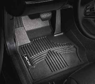 For BMW E90 E91 328i xDrive Set of Front /& Rear Black All Weather Floor Liners