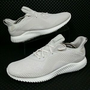photos officielles 4fe02 da619 Details about *NEW* Adidas AlphaBounce HPC (Men's Size 12) Reflective  Running Sneakers Beige