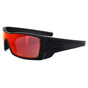 oakley mens batwolf shield sunglasses  image is loading oakley sunglasses batwolf oo9101 38 matte black ink