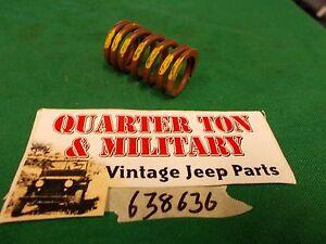 Jeep-Willys-M38A1-M170-CJ3B-CJ5-134F-NOS-intake-valve-spring