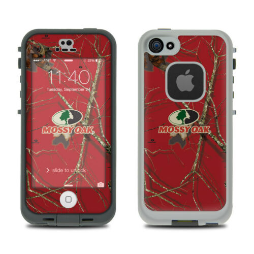 Skin Kit for LifeProof FRE iPhone 5S Mossy Oak Red Oak Sticker Decal