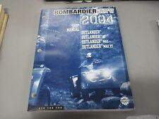 Bombardier OEM Shop Service Manual 2004 Outlander XT MAX XT 219100180