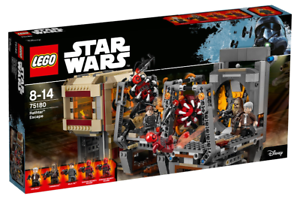 RETIRED LEGO 75180 Star Wars Rathtar Escape 2017 NEW, Factory-sealed box