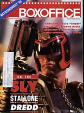 Boxoffice Magazine April 1995 Vol 131 No Stallone Dredd