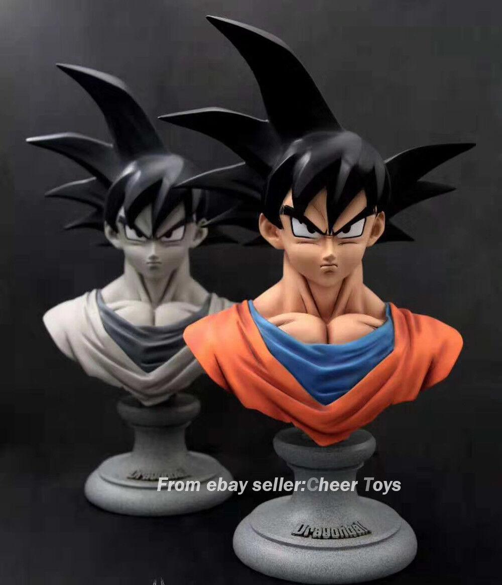 2 Colors Mzl Studio 1 3 pulgadas DBZ Dragon Ball súper Saiyan figura goku resina