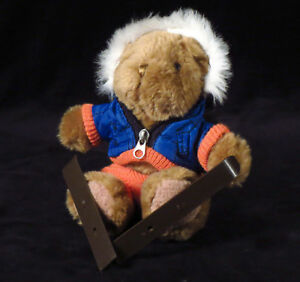 The-Teddy-Bear-Collection-034-Scott-The-Skier-034-Plush-Issue-No-9-Soft-Toy-boating