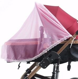Universal Mosquito fly insect sun dust protect cover net mesh Pram Stroller J