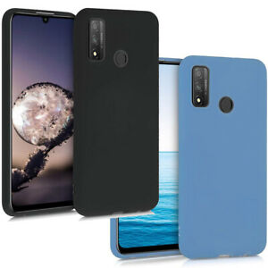 Pellicola-vetro-Custodia-SMOOTH-COVER-tpu-flessibile-per-Huawei-P-Smart-2020
