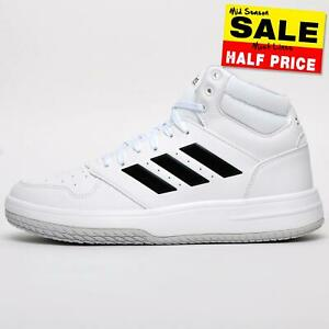 CLEAROUT SALE - Adidas Gametaker Men's Casual Mid-Top Basketball Style Trainers