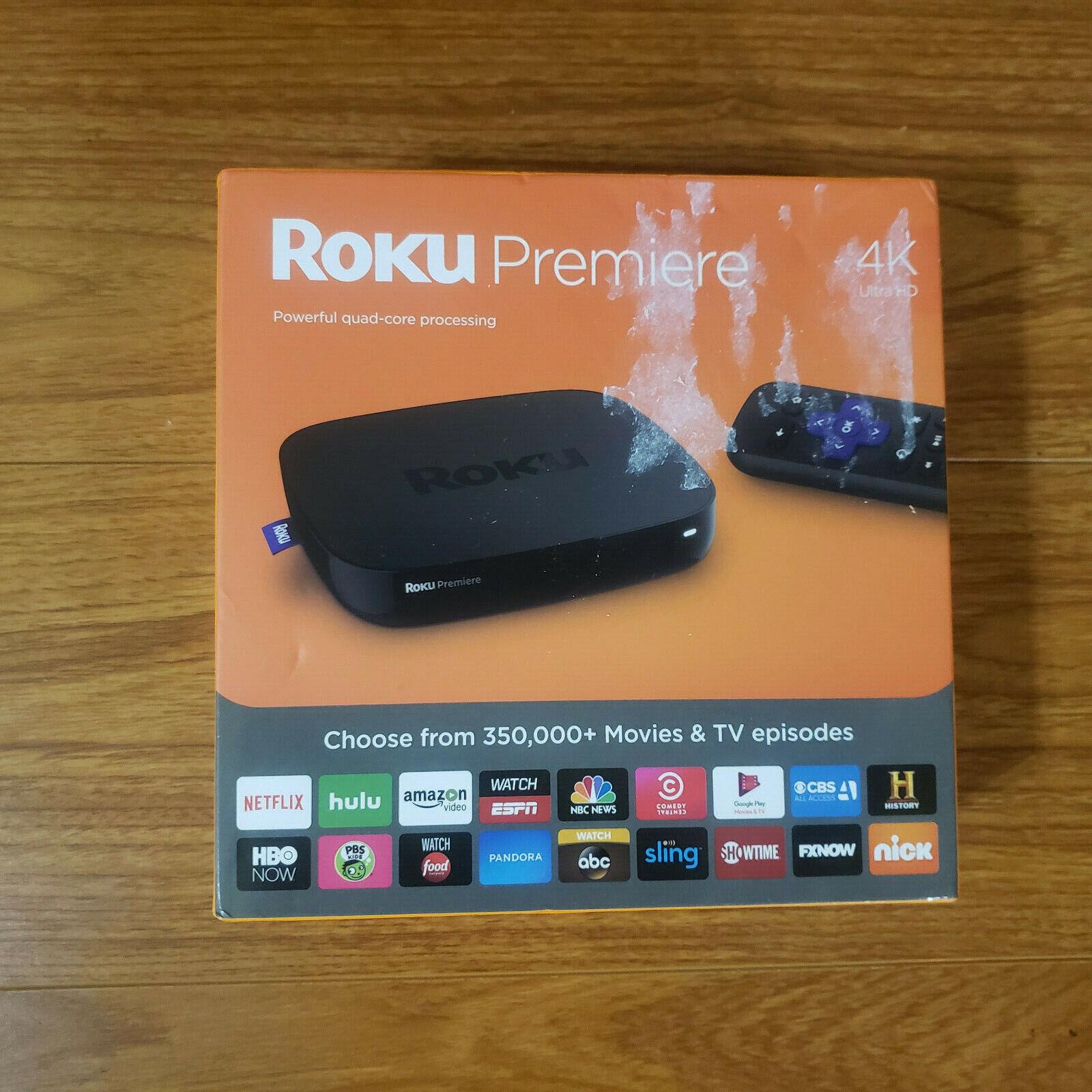 Brand New Roku Premiere 4K Ultra HD Streaming Media Player 4620R 4620r brand media new player premiere roku streaming ultra