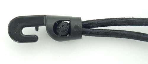 Spannfix 250x4 mm Spanngummi 10 Holdon Banner-Planen-Spanner schwarz Mini-Clip