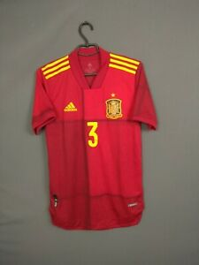 Spain Jersey Authentic 2020 2021 Player Issue SMALL Shirt Adidas FI6250 ig93