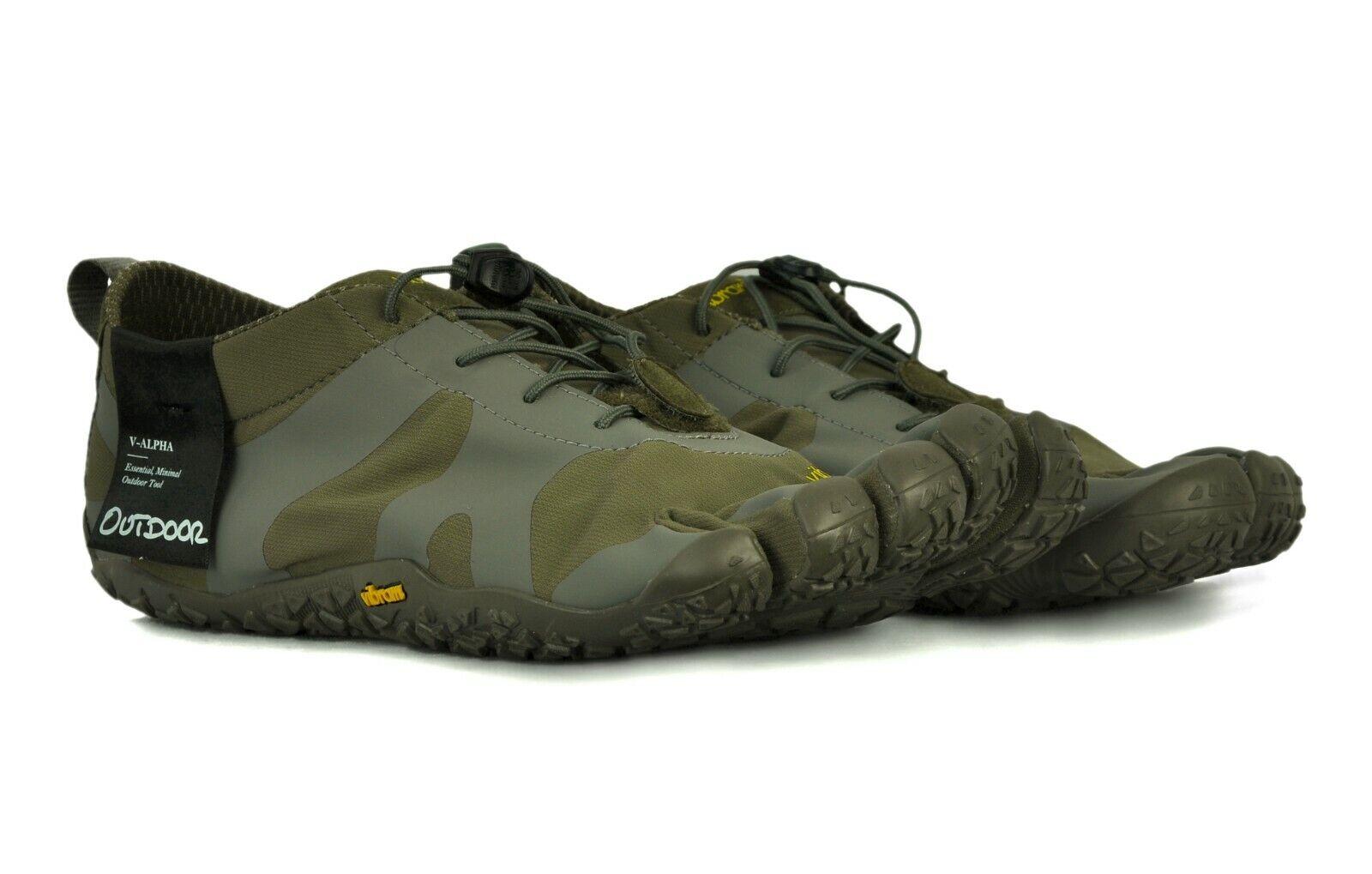 Vibram Fivefingers Hombre Zapatos V-Alfa M7103 militar gris  US 12-12.5