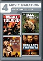 4 Movie Marathon Classic War Collection (wake Island / To Hell And Back /