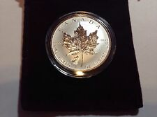 2016 Reverse Proof 1 Oz Fine Silver .9999 Canadian Maple Leaf Wolf Privy