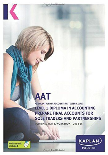 Prepare Final Accounts for Sole Traders and Partnerships - Comb .9780857329394